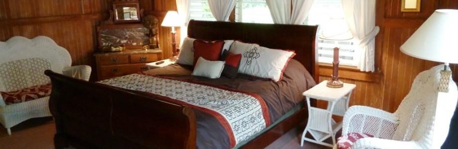 Let the Plumeria Suite at the Kauai Beach Inn engulf you in luxury
