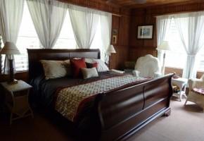 Plumeria Suite Bedroom at the Kauai Beach Inn
