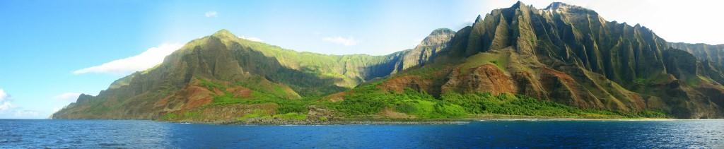 NaPali Coast Kauai Panorama